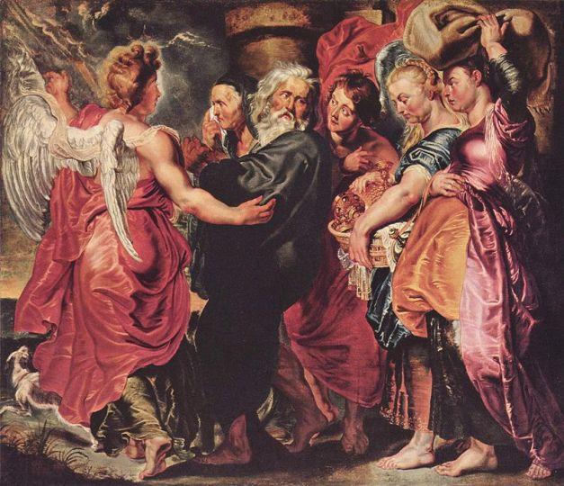Pericopa Vayera – Lot și fetele lui