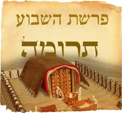 Pericopa Truma – Schițele Mișkanului (Tabernacolului)