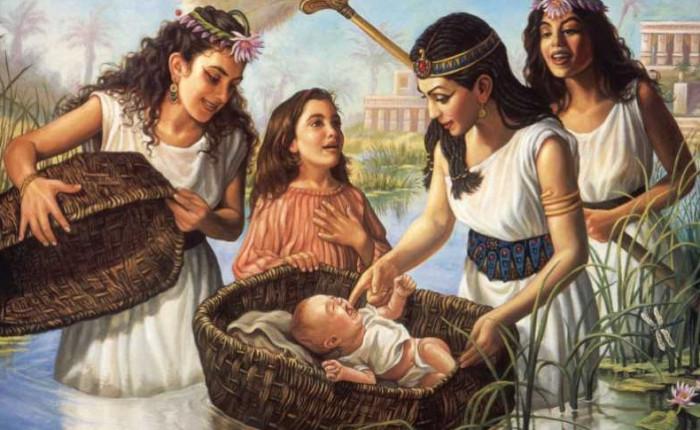 Pericopa Șmot – Fiica Faraonului  Bat Par'o בת פרעה 5780