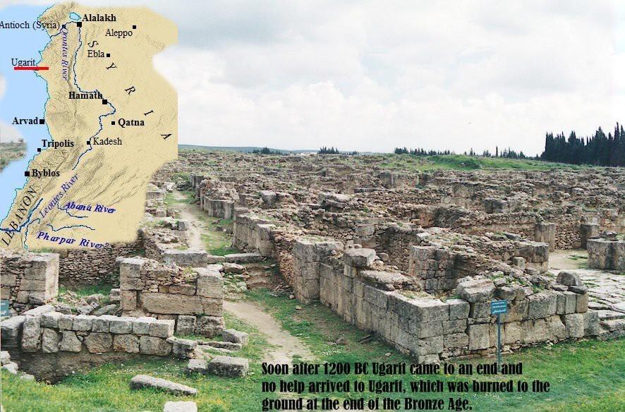 Ugarit, un oraș uitat timp de trei mii de ani  5781
