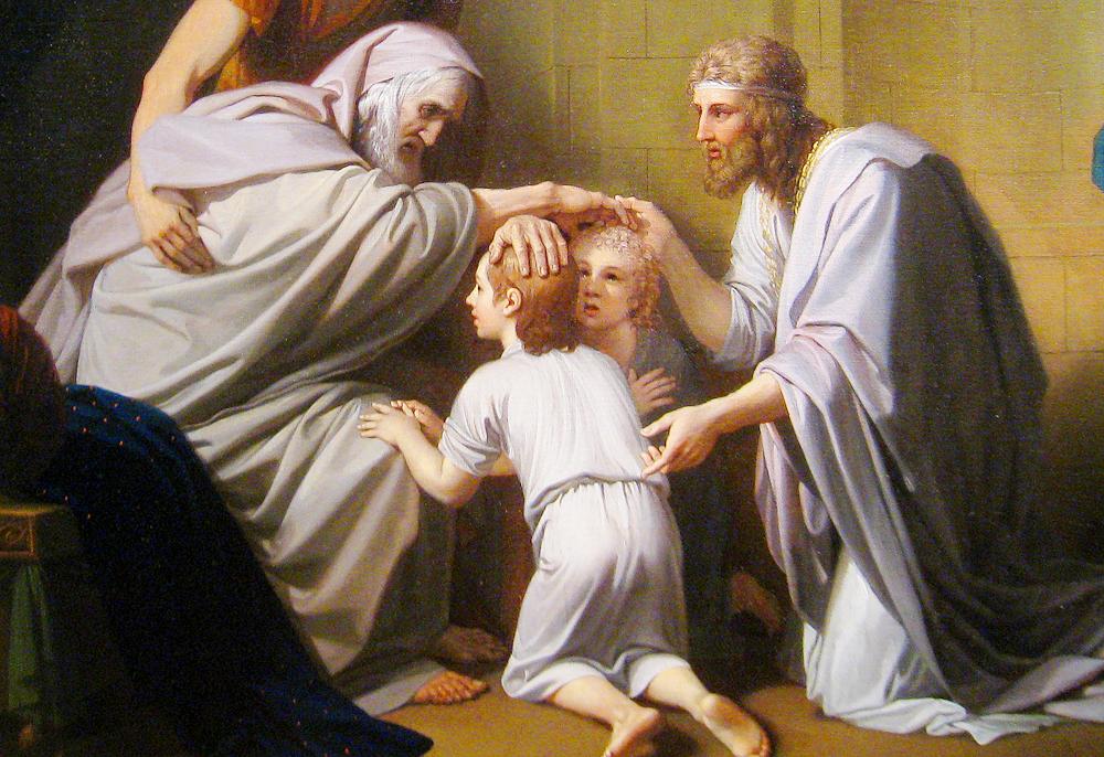 Pericopa Vayehi – Încrucișarea mâinilor și binecuvântarea pe genunchi 5781