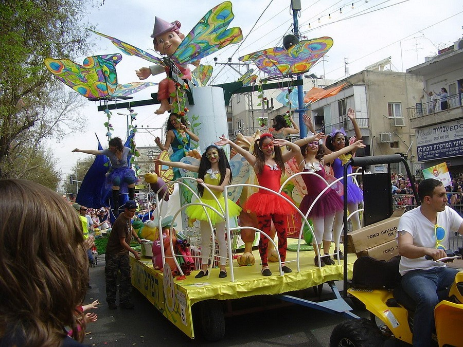 Adloiada – Carnavalul de Purim din Tel Aviv